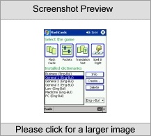 LingvoSoft FlashCards English  Bulgarian for Po Software